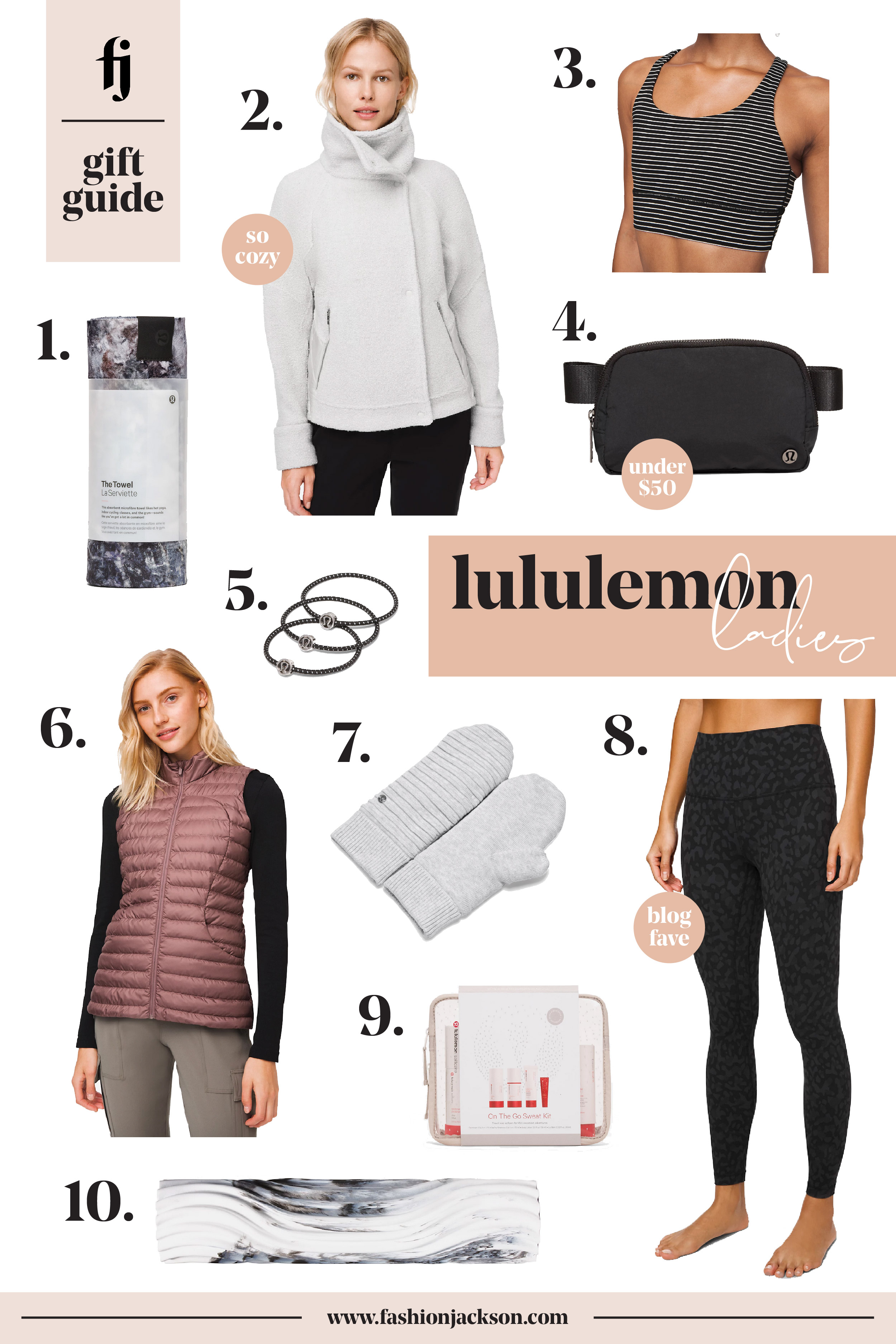 Fashion Jackson lululemon Womens Gift Guide