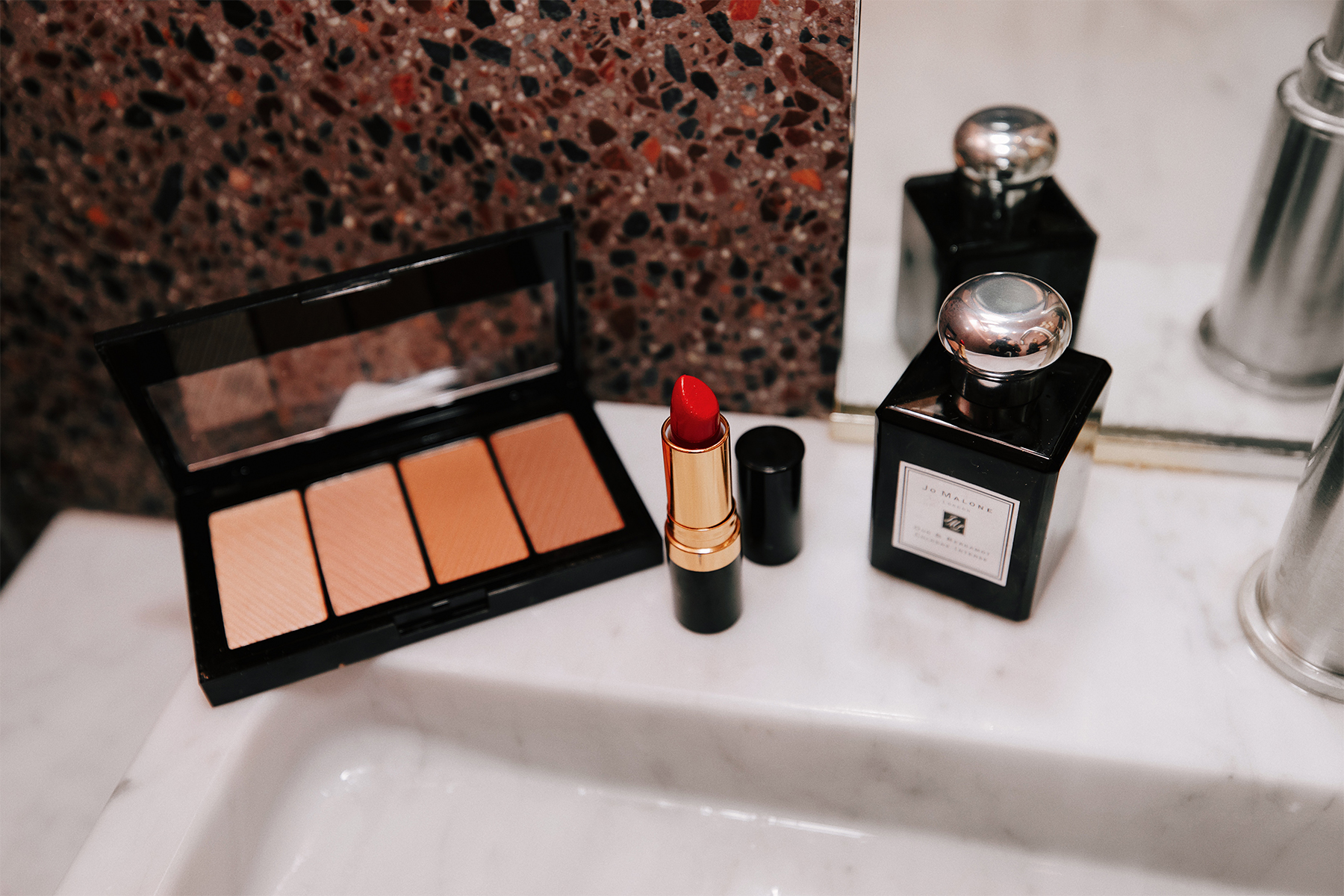 Fashion Jackson Walmart Holiday Beauty Bronzer Red Lipstick Jo Malone Cologne