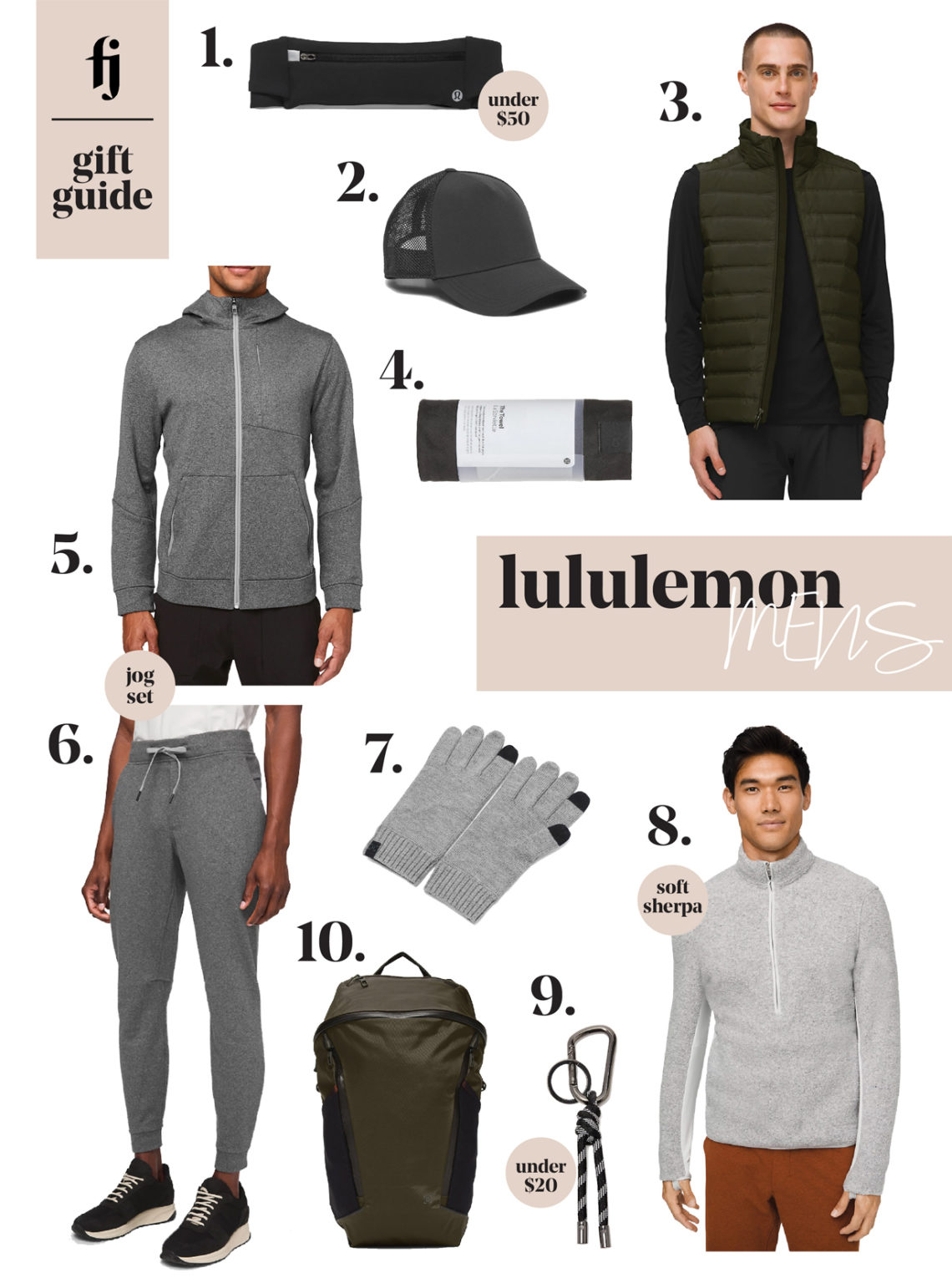 lululemon mens gift guide