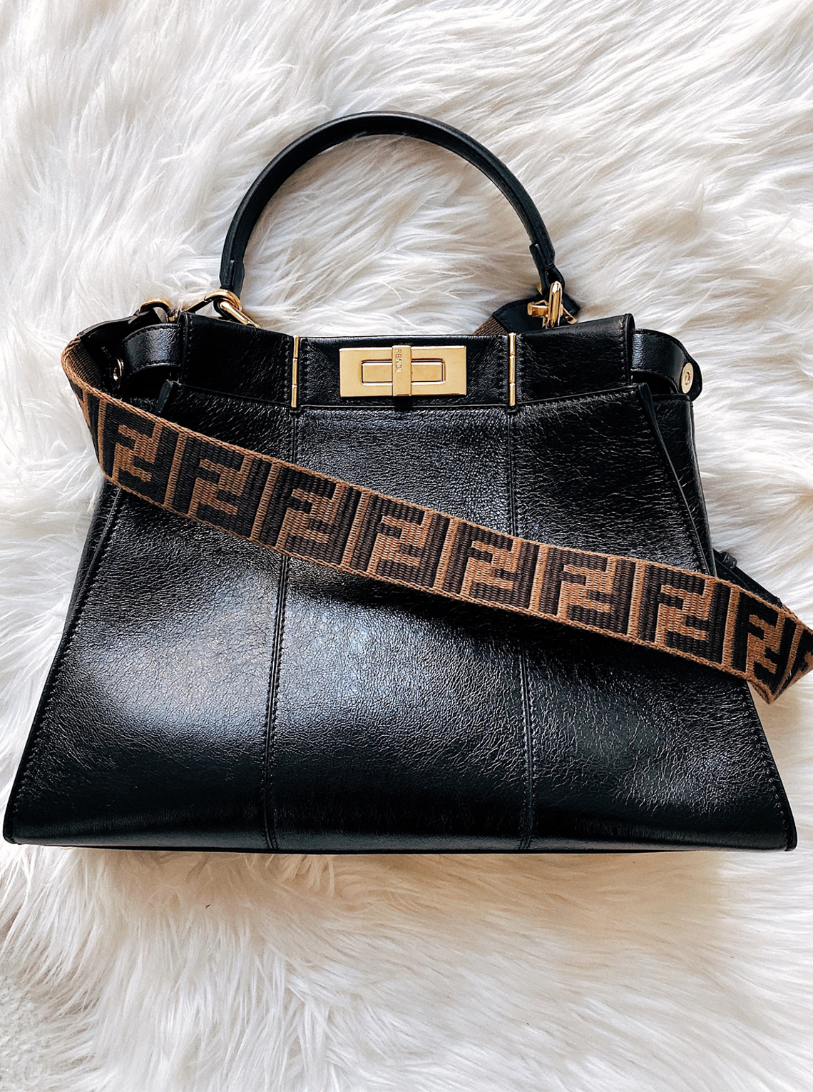 Fendi Peekaboo Iconic Medium Handbag