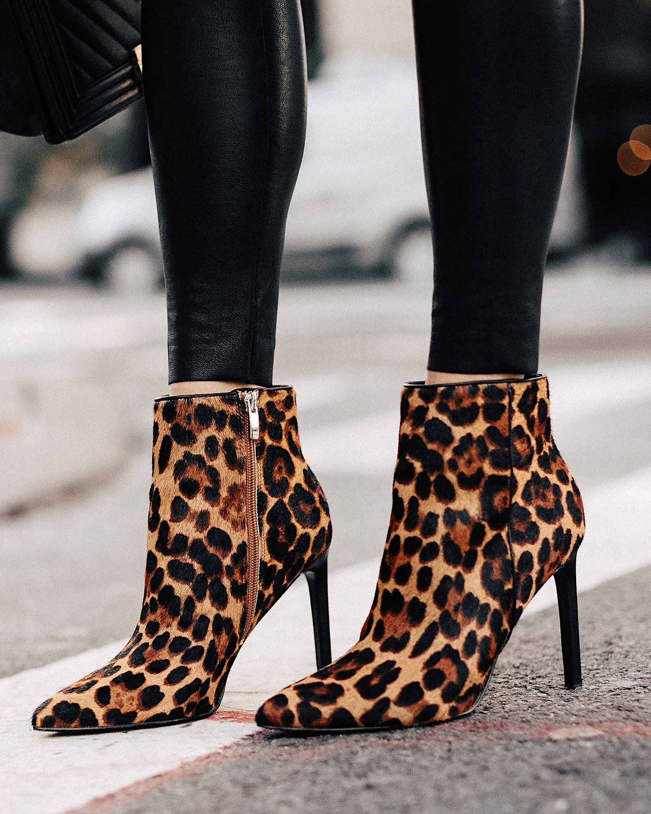 Fashion Jackson Nine West Leopard Booties