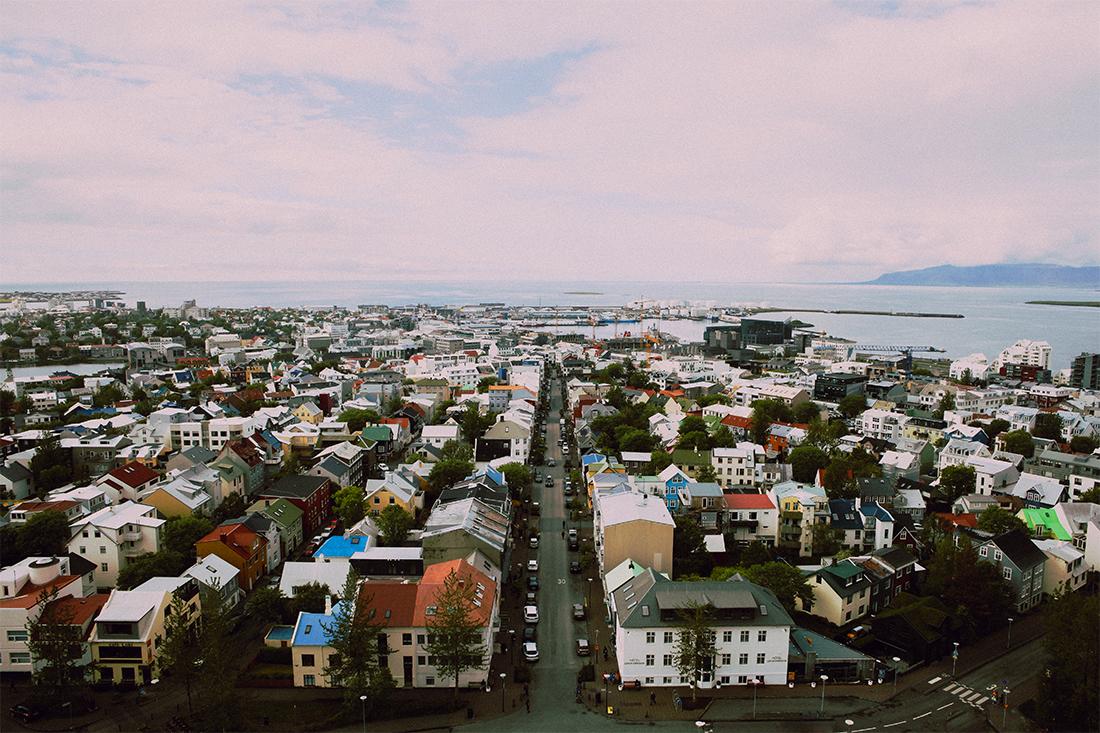 Reykjavik Iceland Cityscape