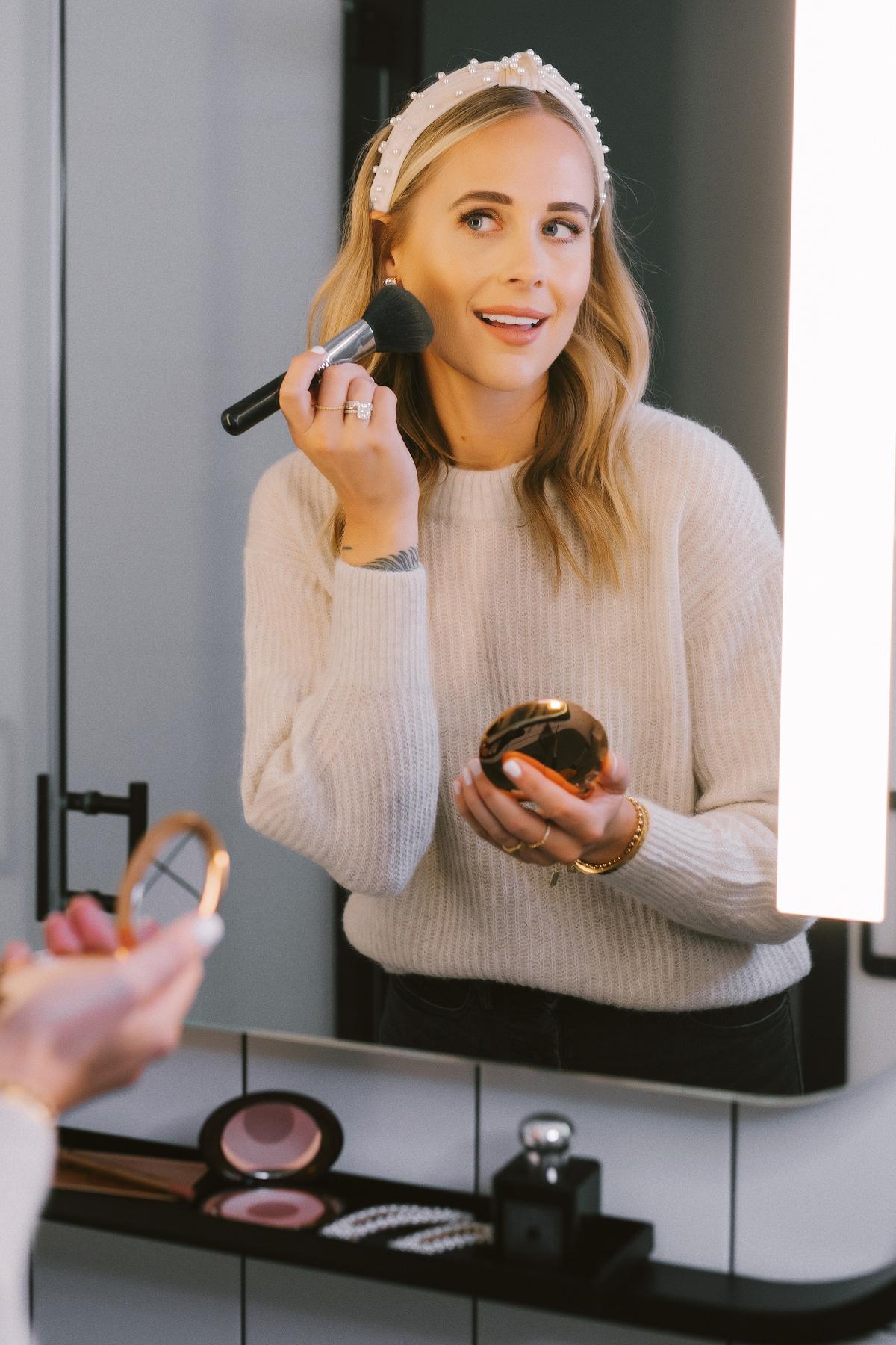 fashion jackson everyday makeup sephora holiday beauty event 2019 charlotte tilbury powder