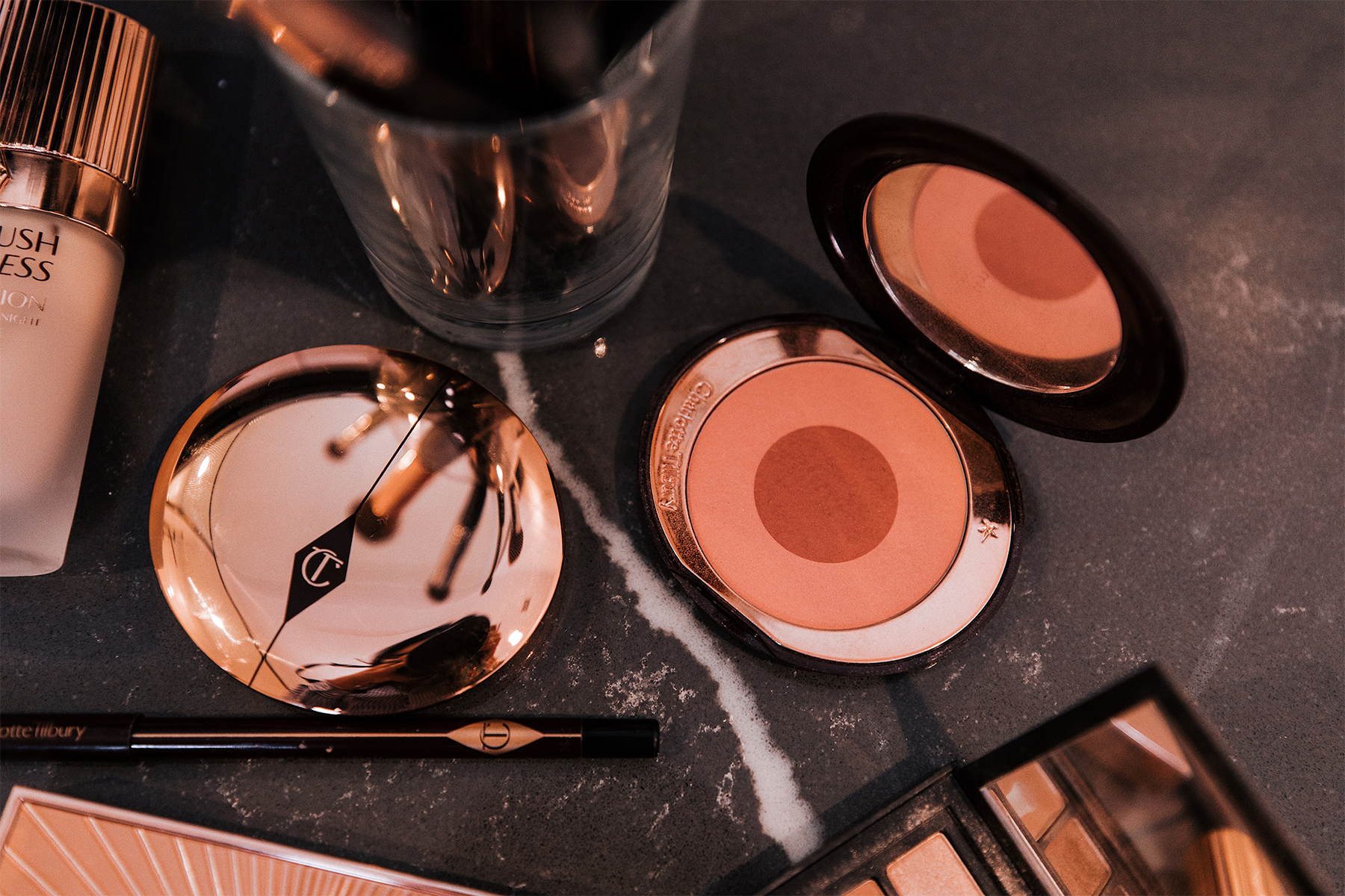 fashion jackson sephora holiday beauty event 2019 charlotte tilbury makeup powder blush