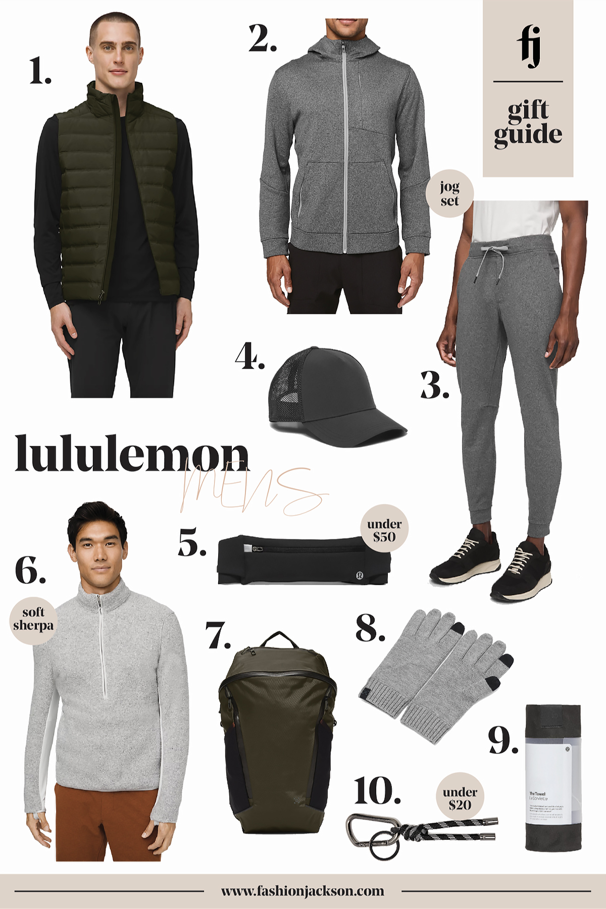 lululemon black friday mens gift guide