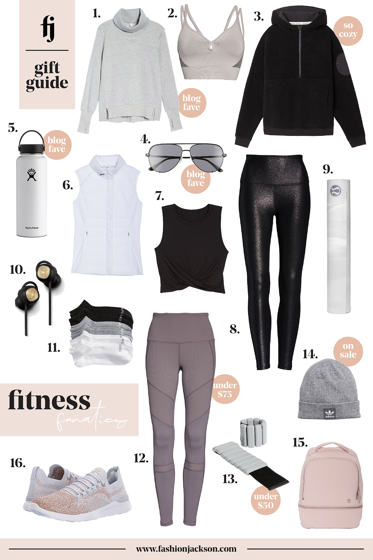 Fashion Jackson Fitness Gift Guide
