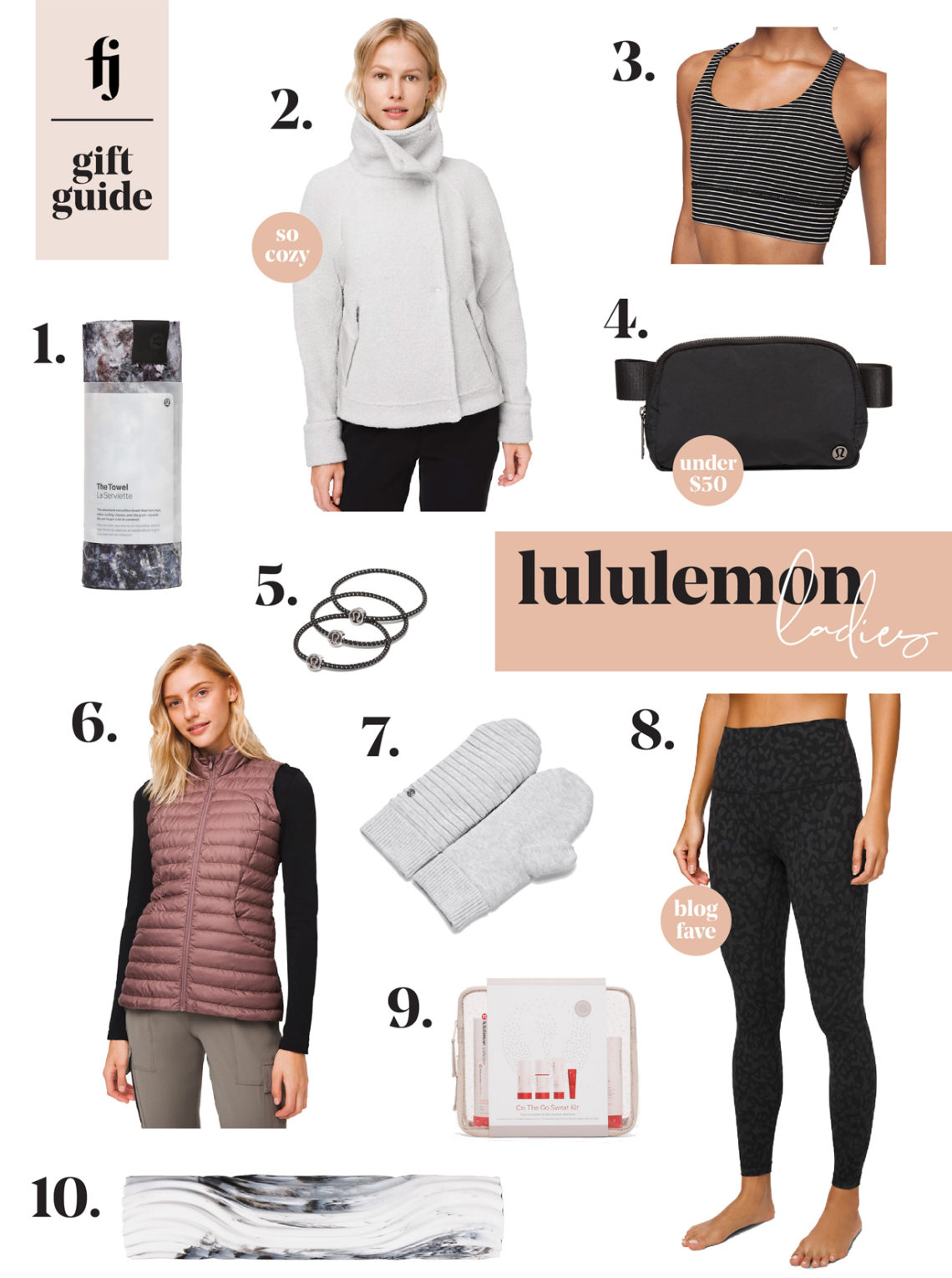 lululemon womens gift guide