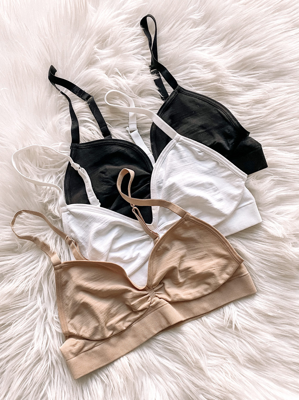 halogen seamless bras