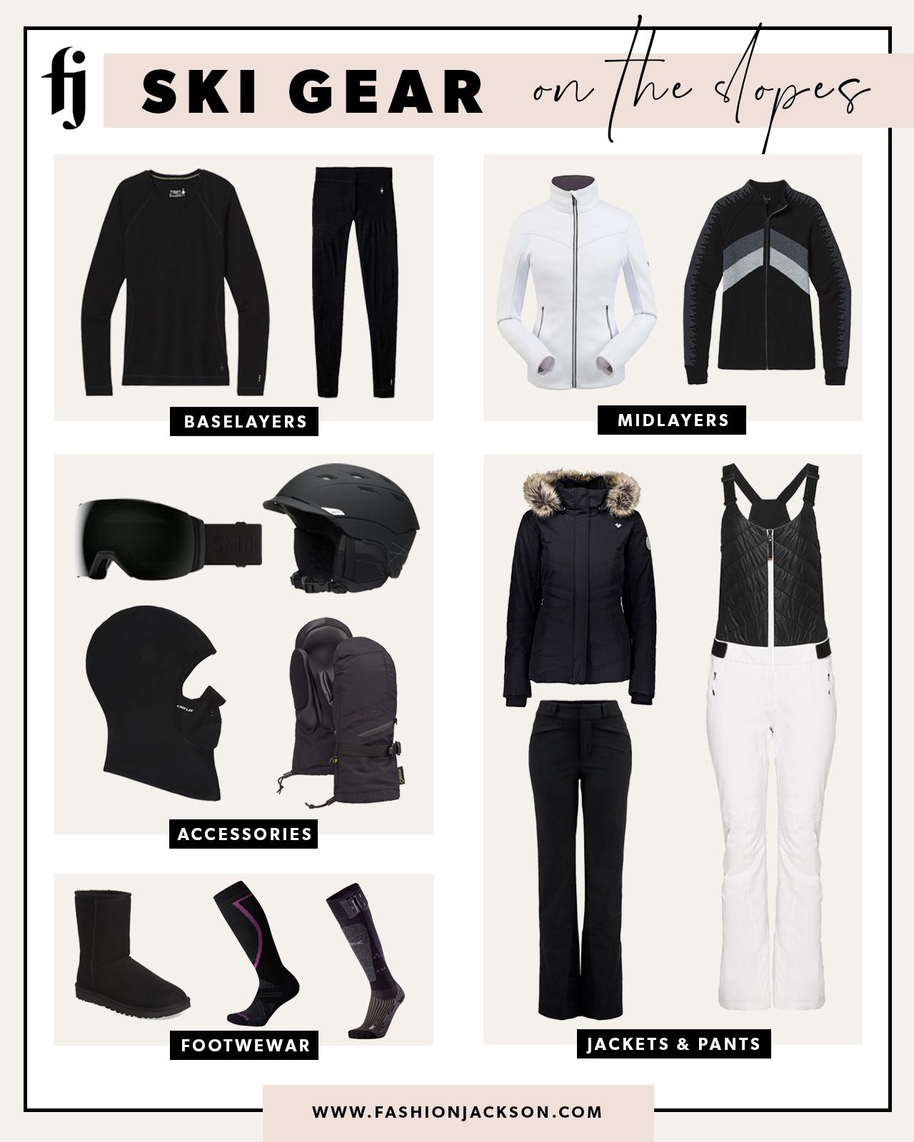 ski gear copy