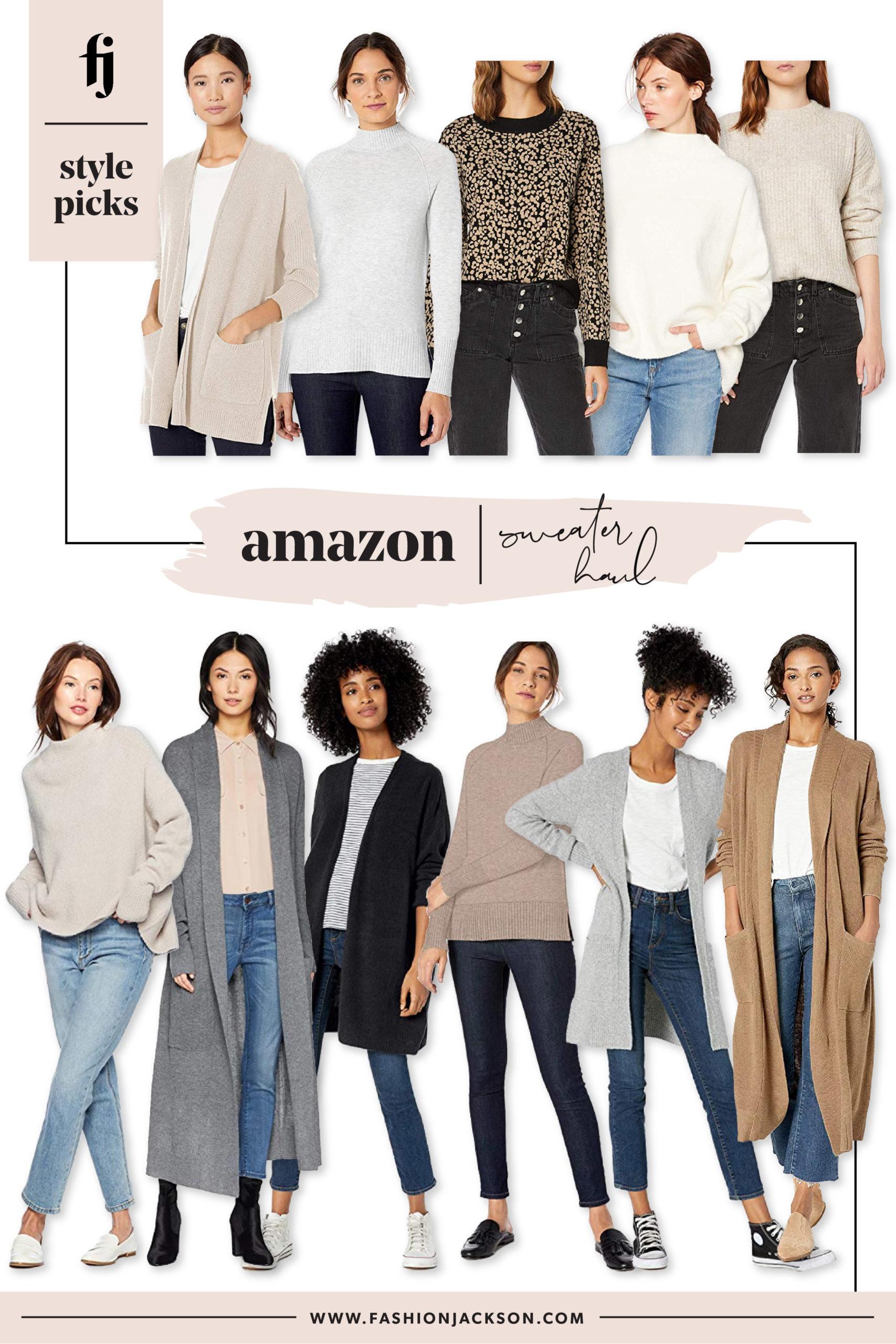 Amazon Sweaters Haul
