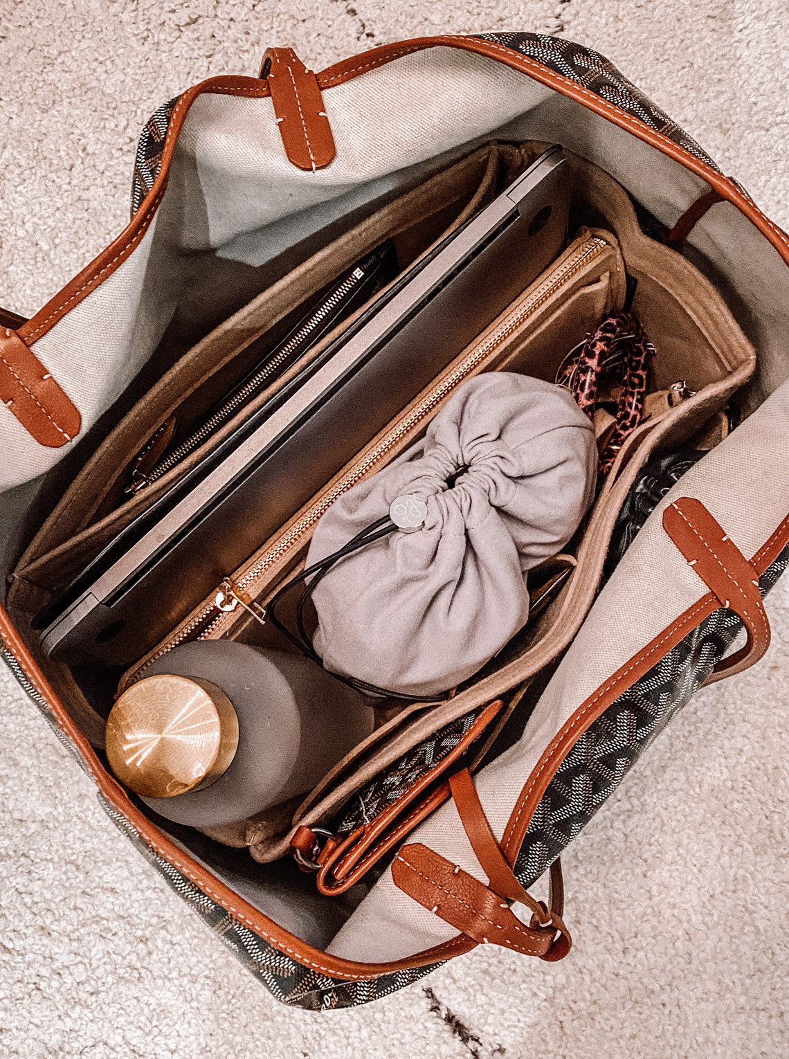 Fashion Jackson Amazon Felt Tote Organizer Insert