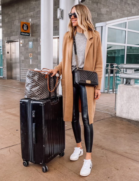 My 10 Favorite Airport Outfits to Inspire Your 2020 Travel Style (And Travel Essentials for Jetsetters)