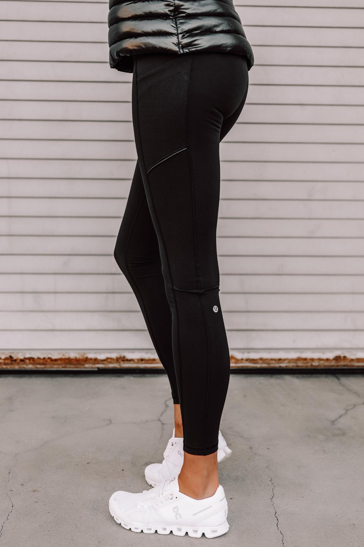 Fashion Jackson Wearing lululemon Speed Up Leggings