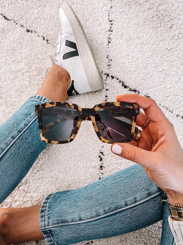 Fashion Jackson Westward Leaning Big TV 02 Tortoise Sunglasses