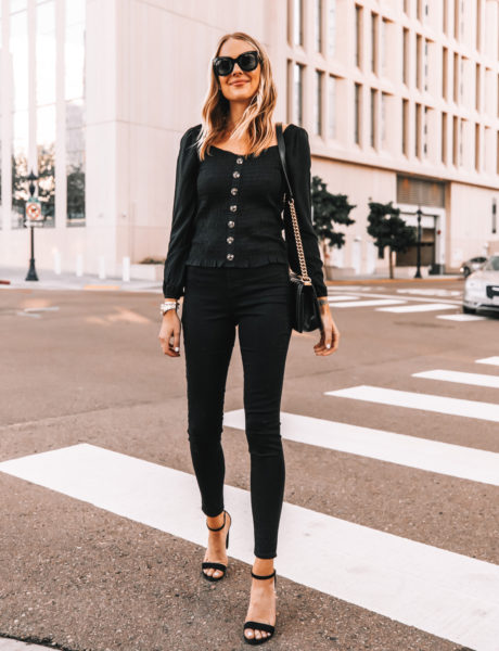 A Chic All-Black Outfit, All From Walmart for Less Than $70!