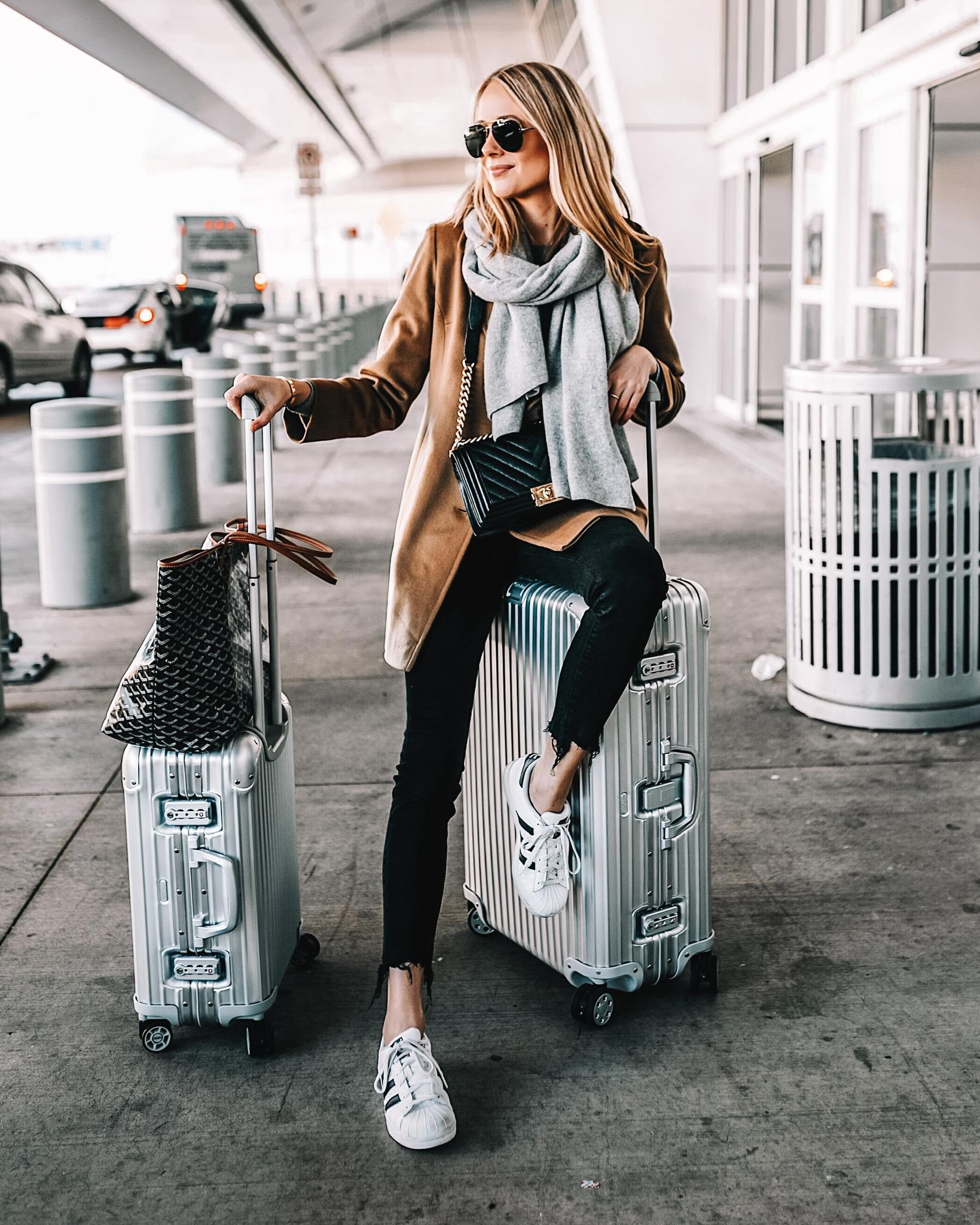 Fashion Jackson Airport Travel Style Rimowa Luggage Goyard Tote