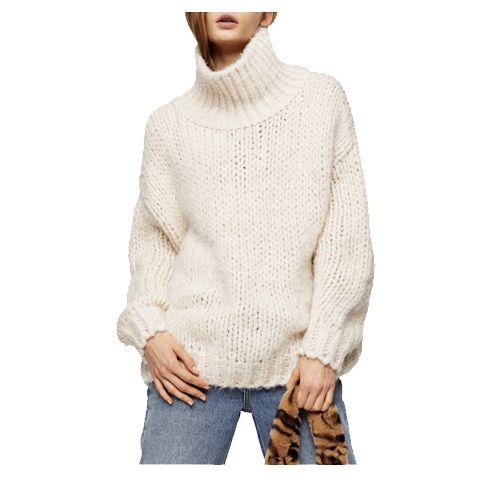 topshop chunky sweater