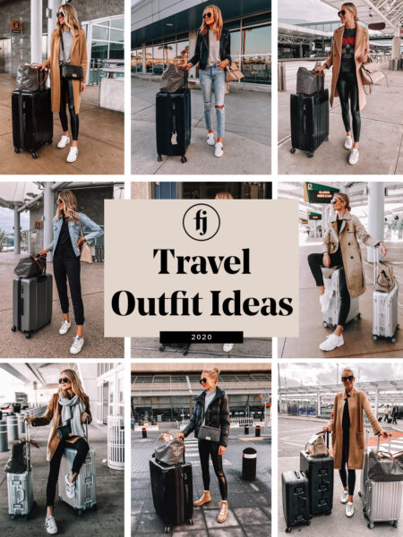 My Favorite Airport Outfits to Inspire Your Travel Style (And Travel Essentials for Jetsetters)