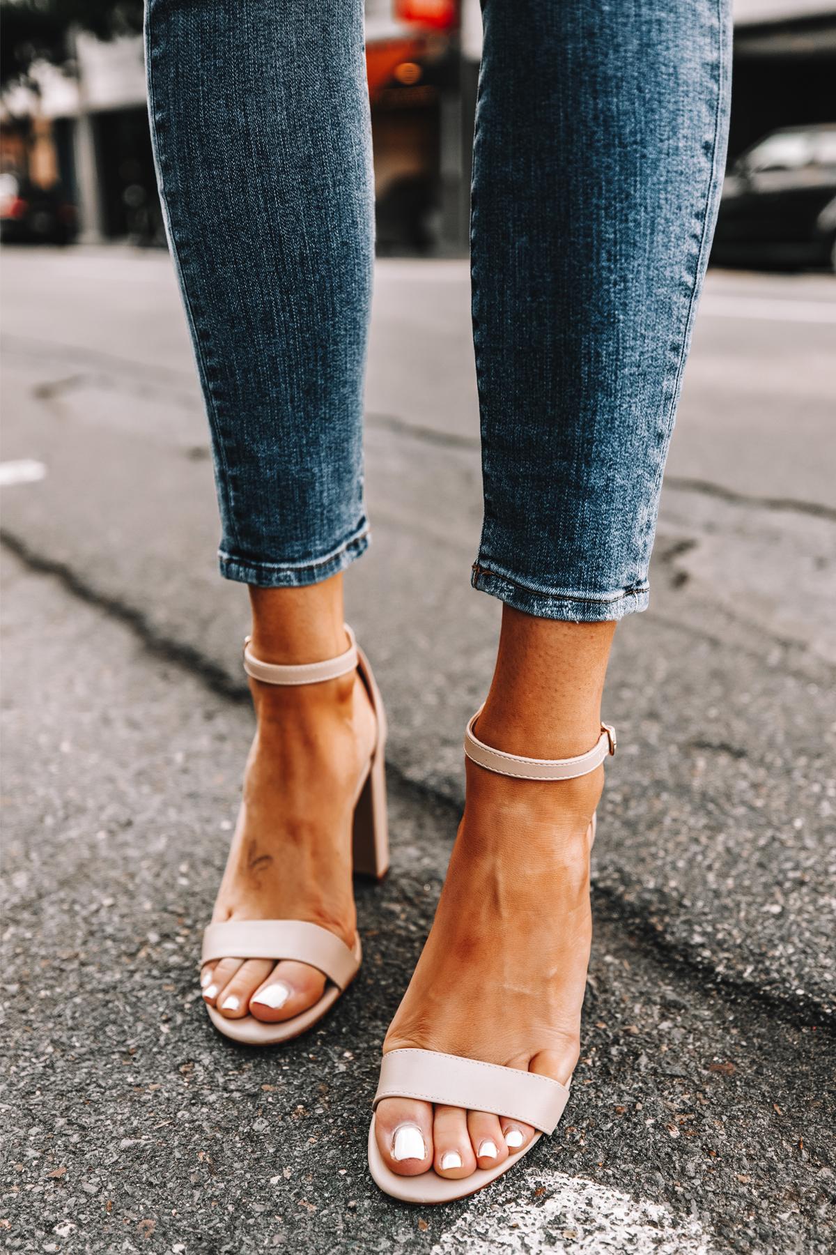 Fashion Jackson Wearing Amazon The Drop Beige Heeled Sandals