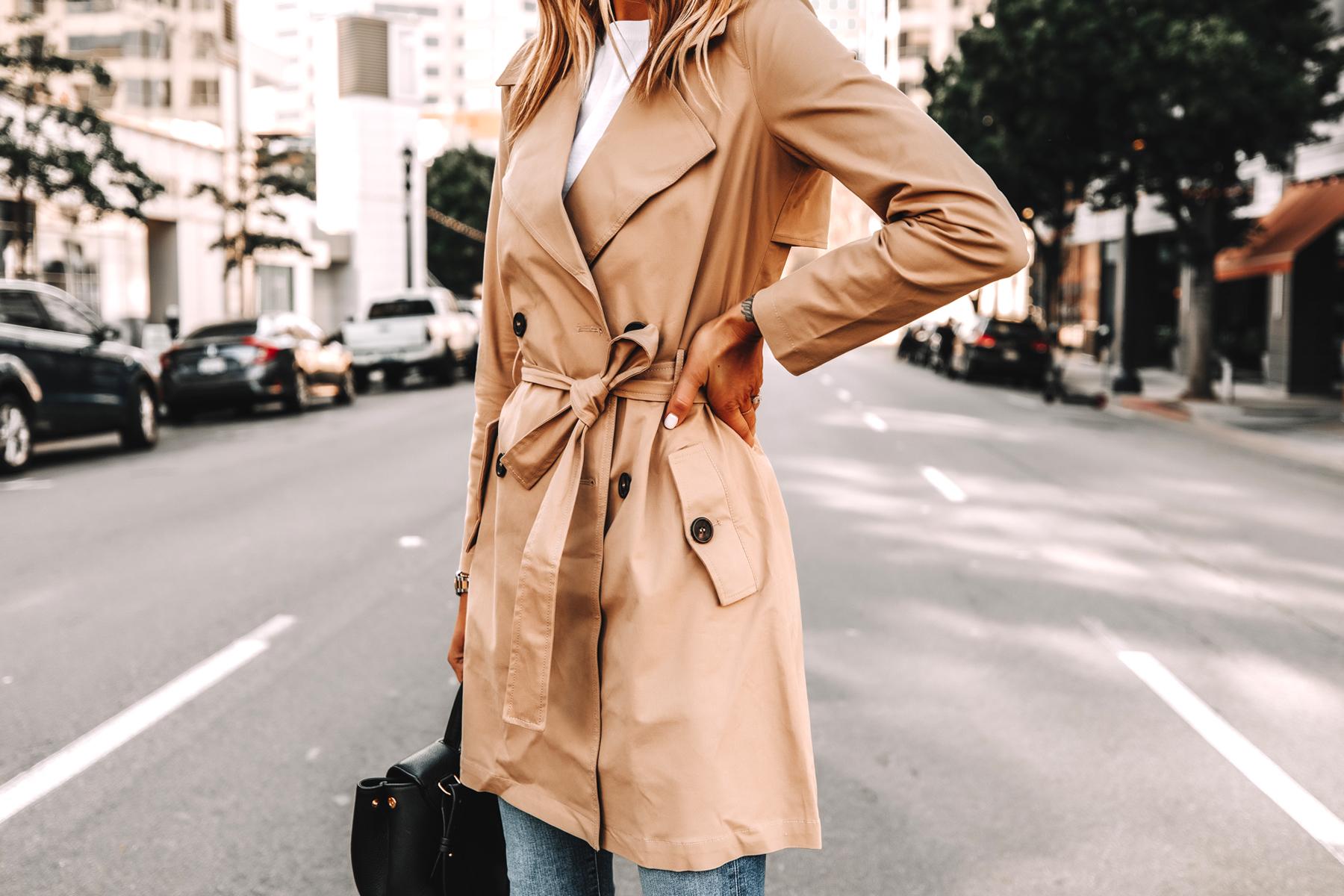 Fashion Jackson Wearing Amazon The Drop Trench Coat Street Style