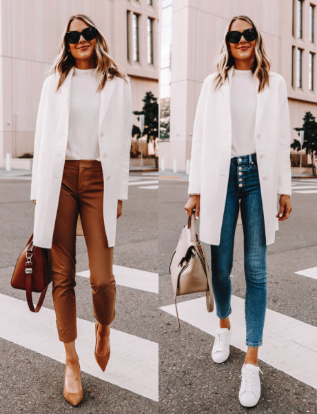 Take an Outfit From Work to Weekend, Just By Swapping Your Pants
