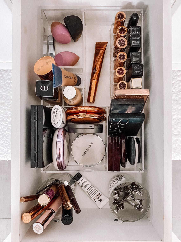 Fashion Jackson Makeup Drawer Organized