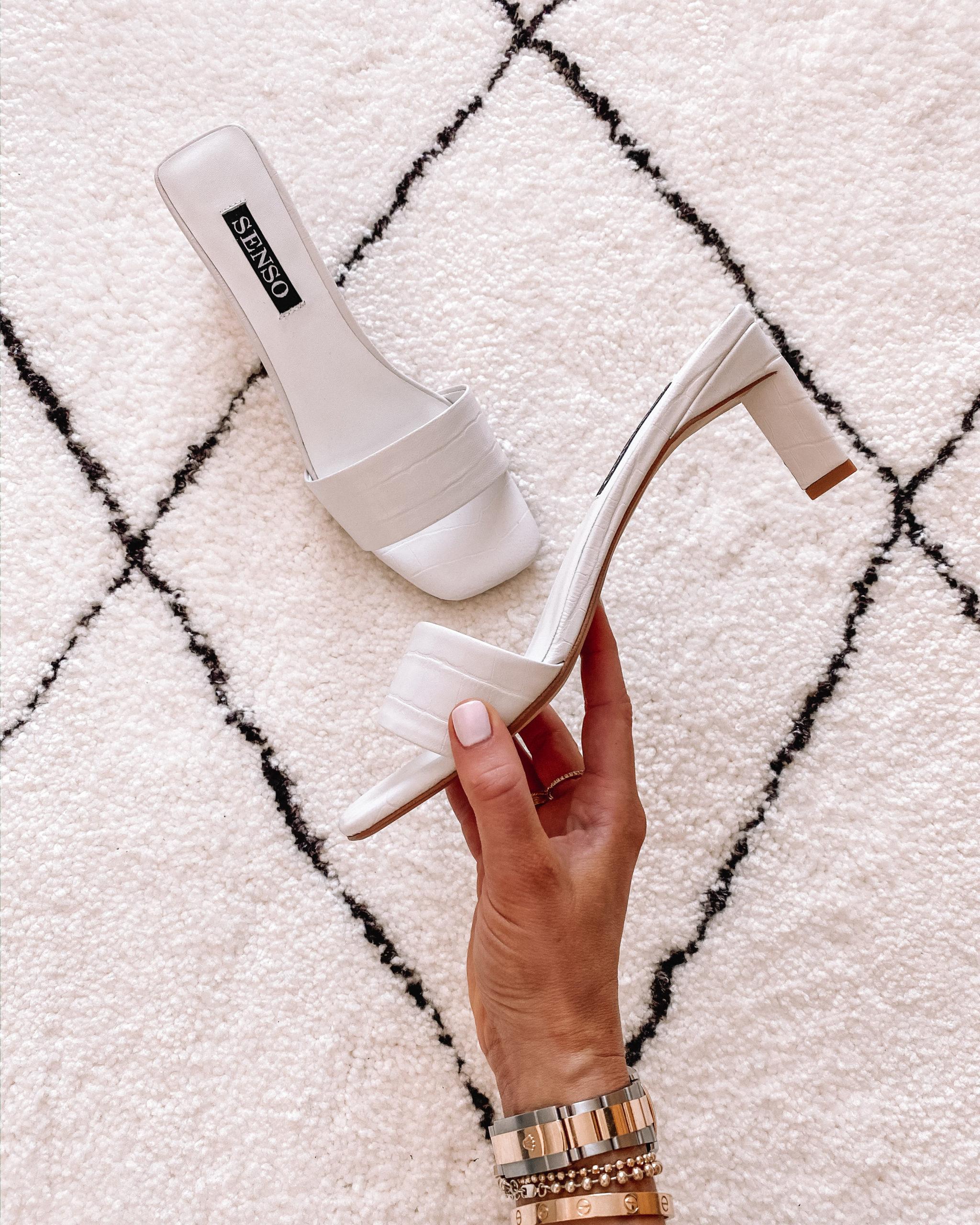 Senso Maisy Slides White