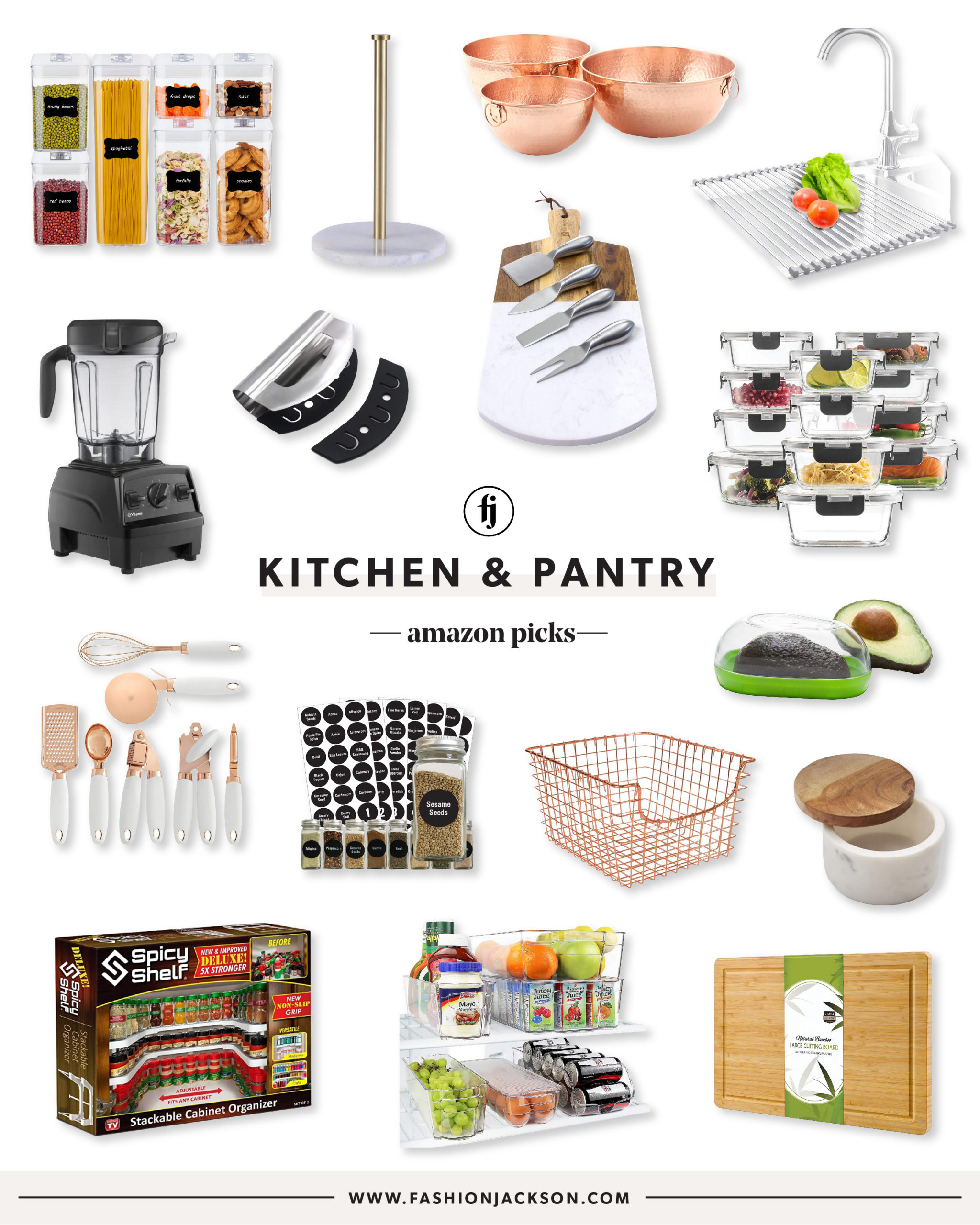 Amazon Kitchen & Pantry Organization