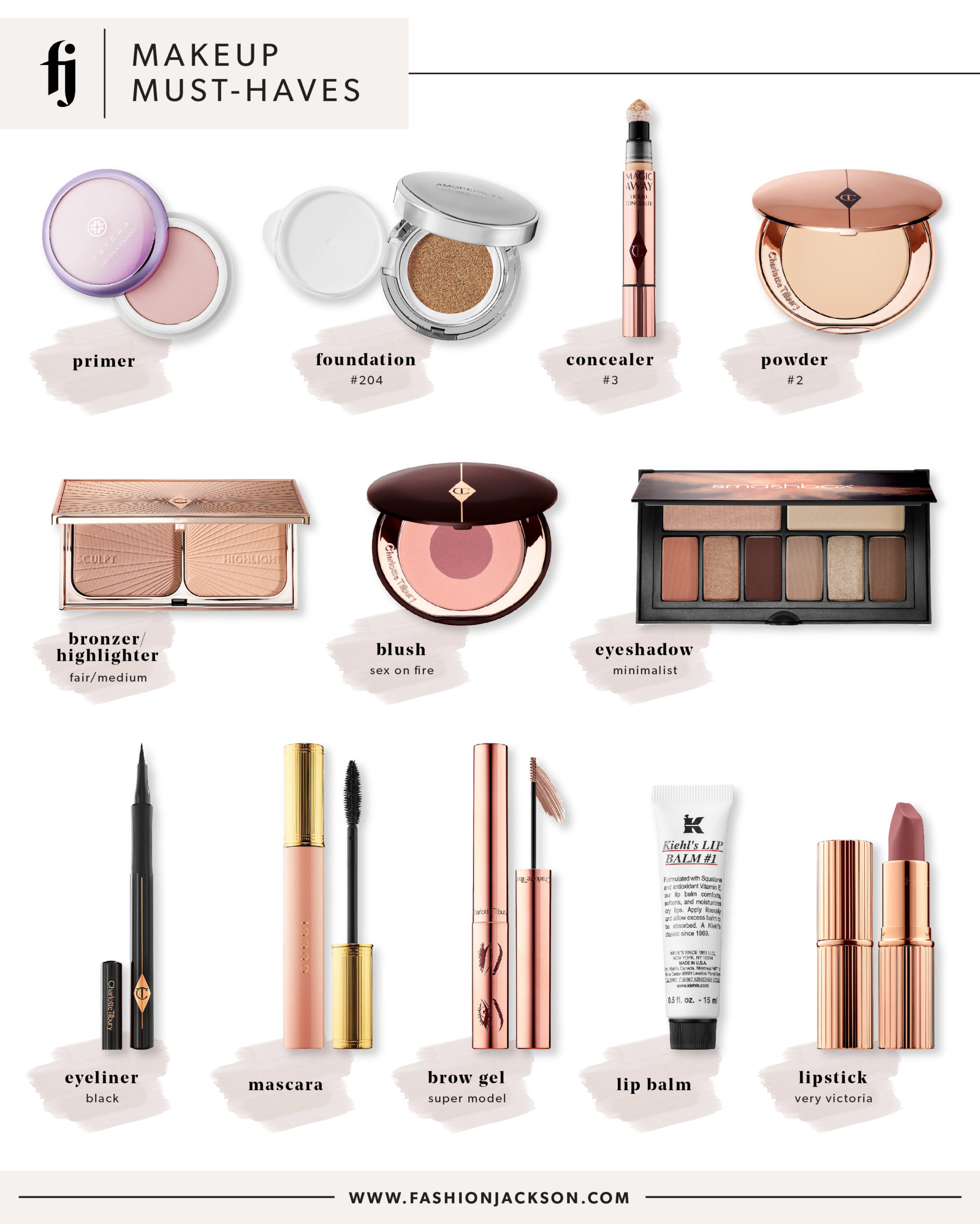 Fashion Jackson Sephora Spring Event Everyday Makeup