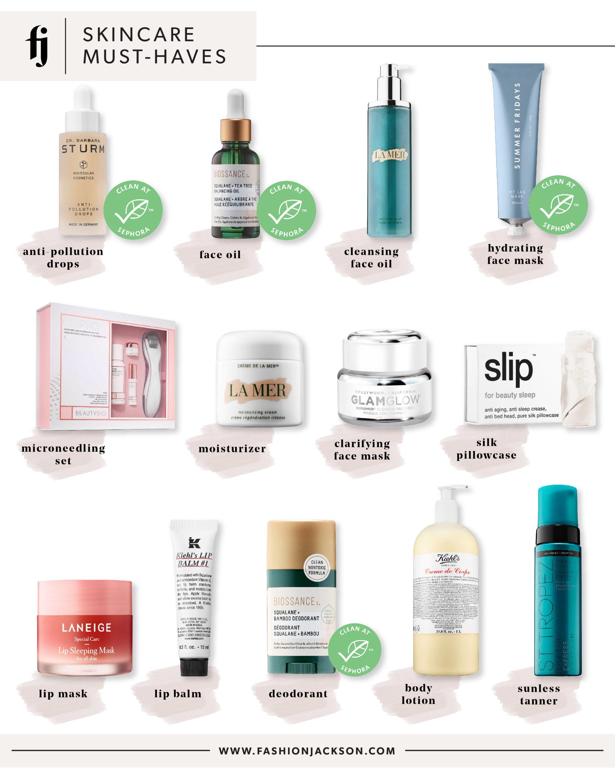 Fashion Jackson Sephora Spring Event Skincare