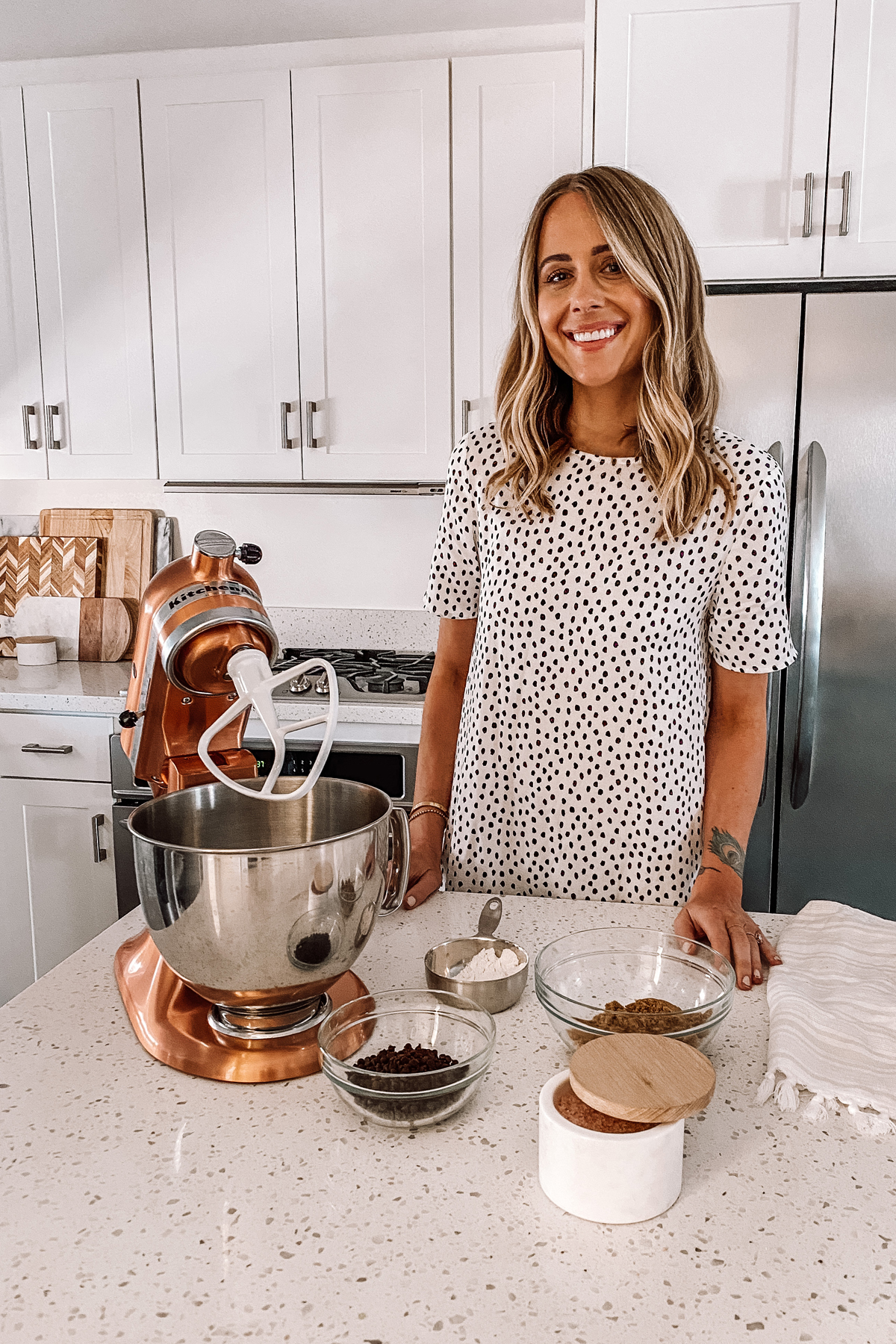 Fashion Jackson KitchenAid Copper Mixer Chocolate Chip Cookie Recipe