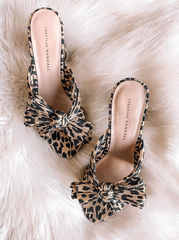 Fashion Jackson Loeffler Randall Leopard Penny Mule