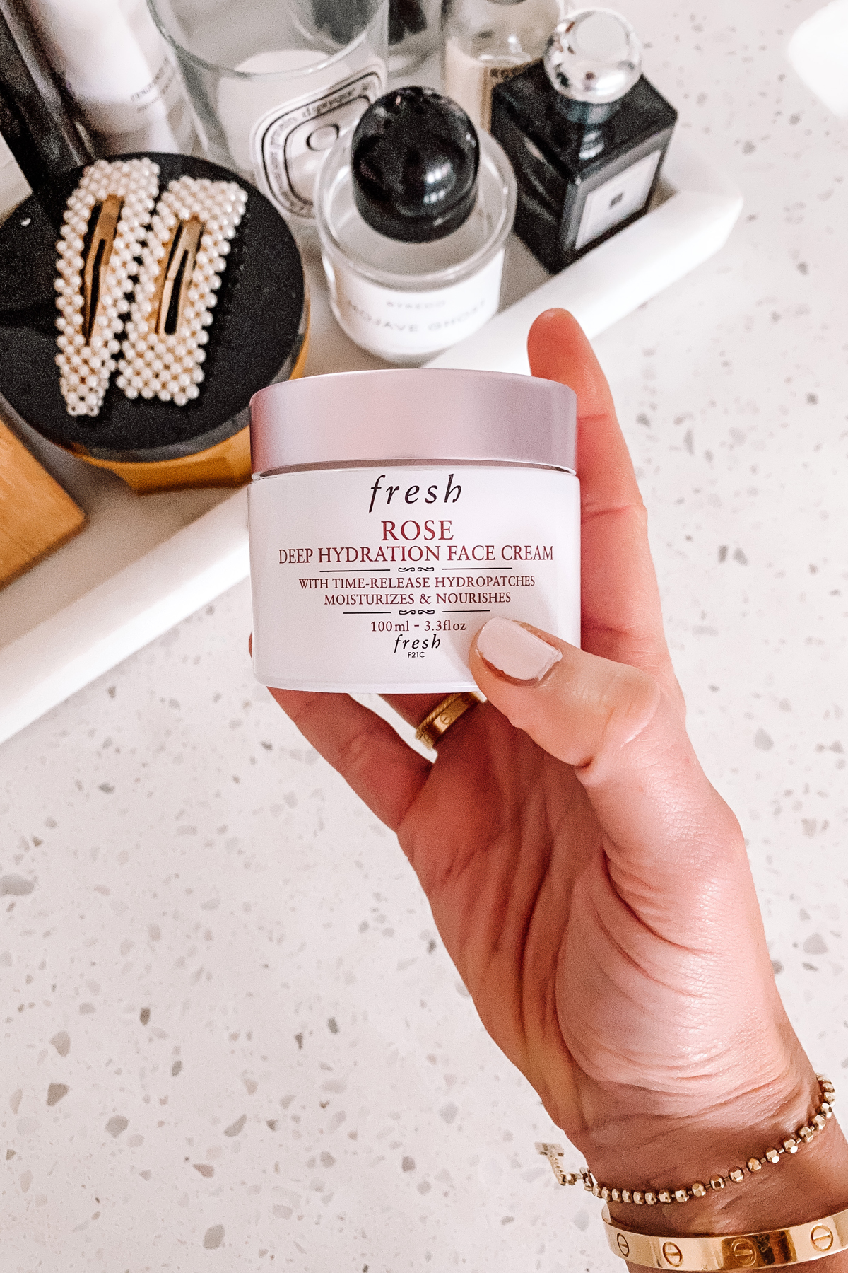 Fashion Jackson Sephora Spring Beauty Event Fresh Rose Deep Hydration Face Cream