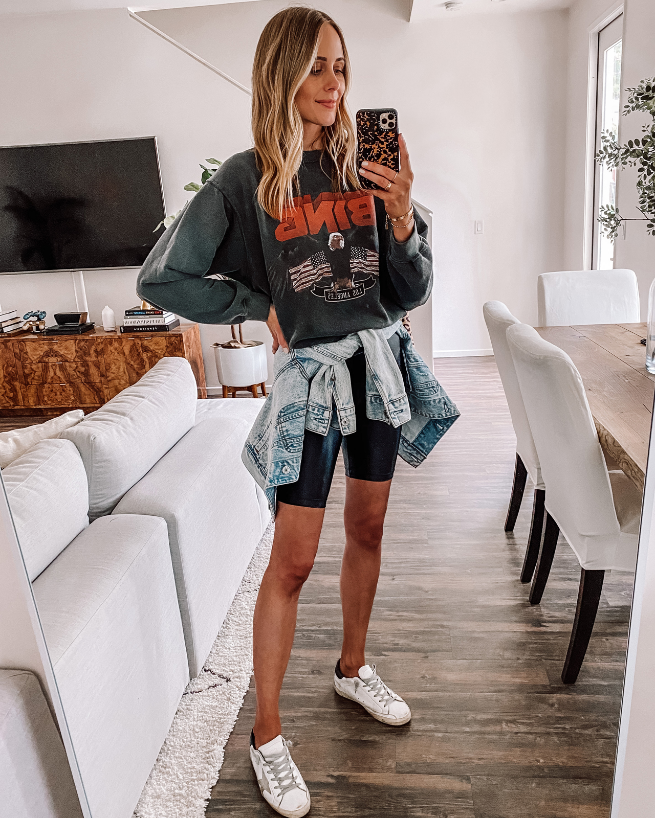 Anine Bing Outfit Style Guide How To Wear Bing Sweatshirts Graphic Tees More