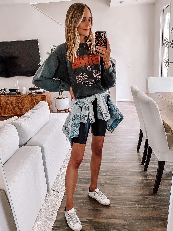 Biker Shorts Trend Fashion Jackson