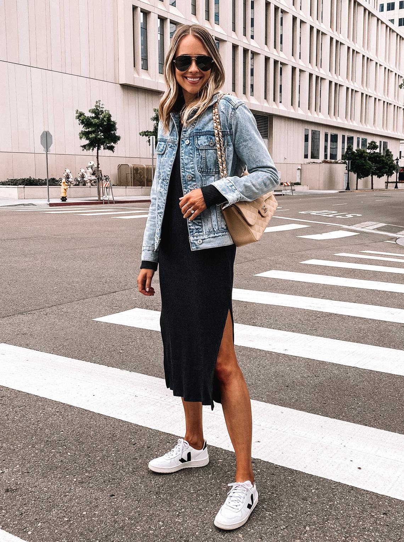 Ribbed Midi Dress | Fashion Jackson