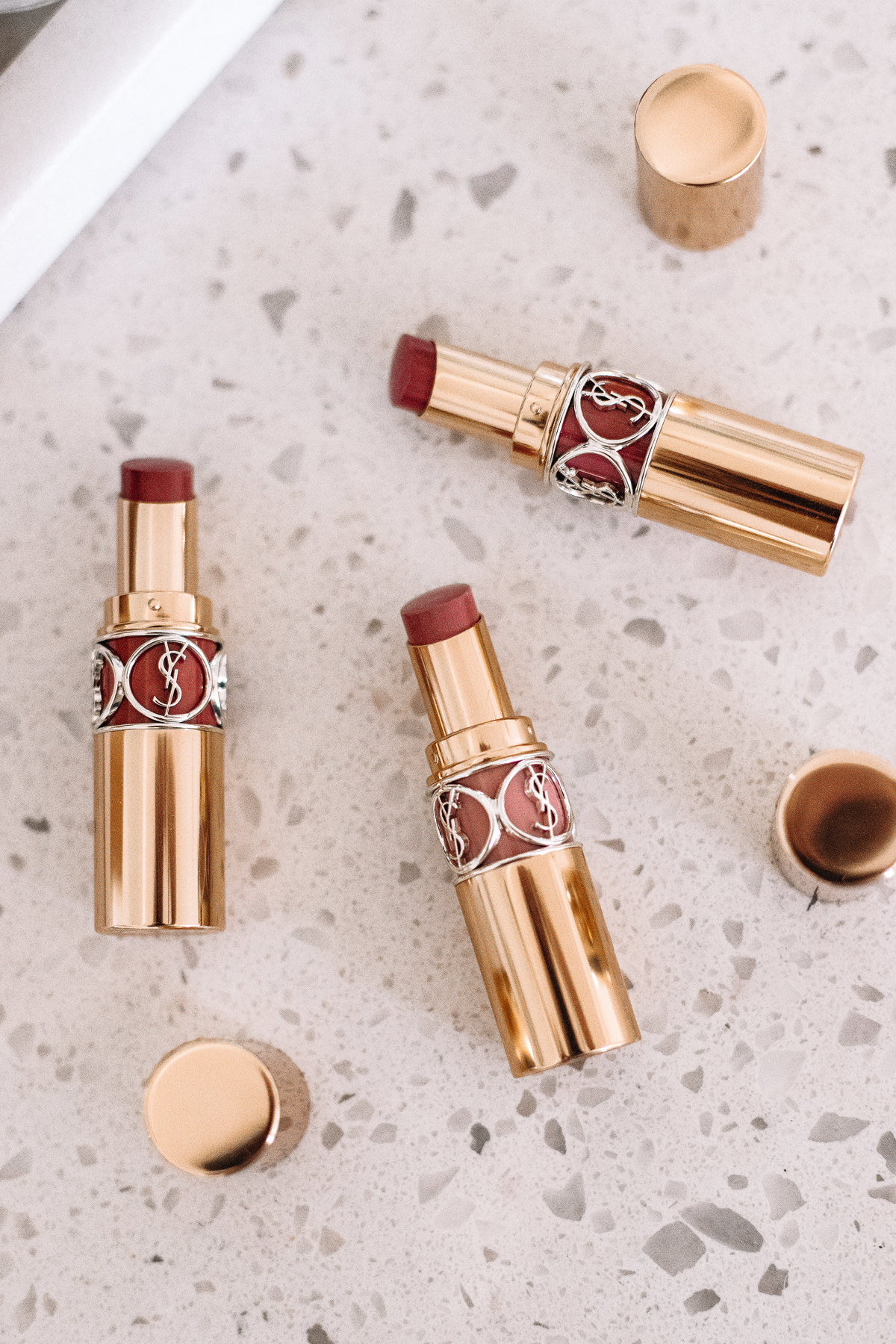 Fashion Jackson YSL Rouge Volupte Shine Lipsticks