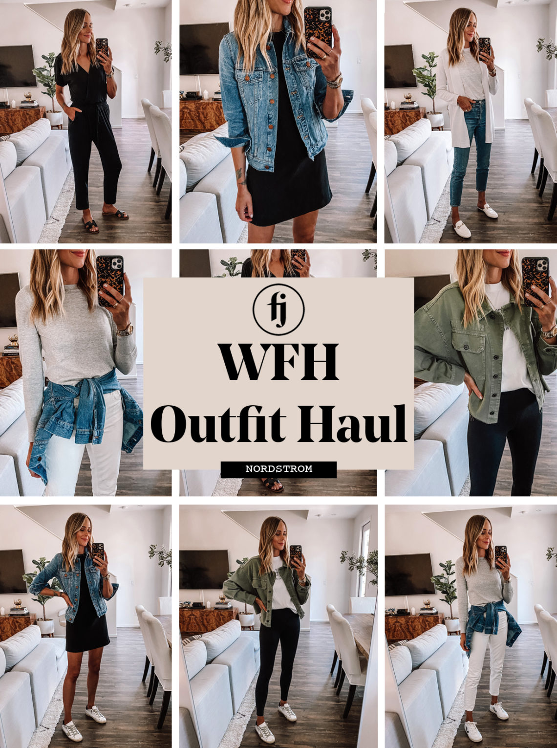 nordstrom WFH Haul