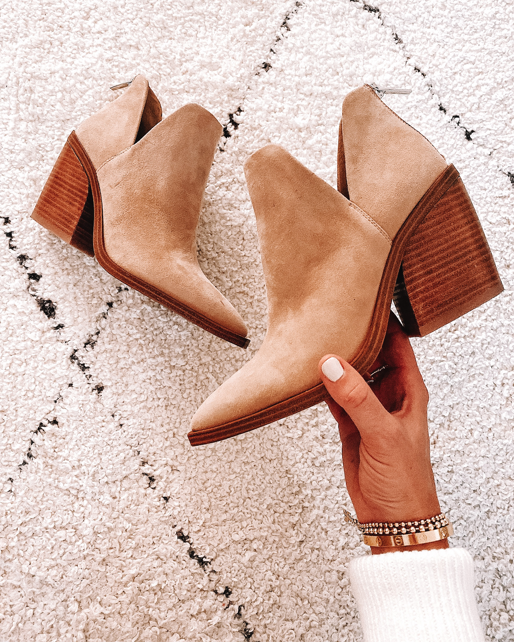 Fashion Jackson Vince Camuto Gigetta Booties Tortilla
