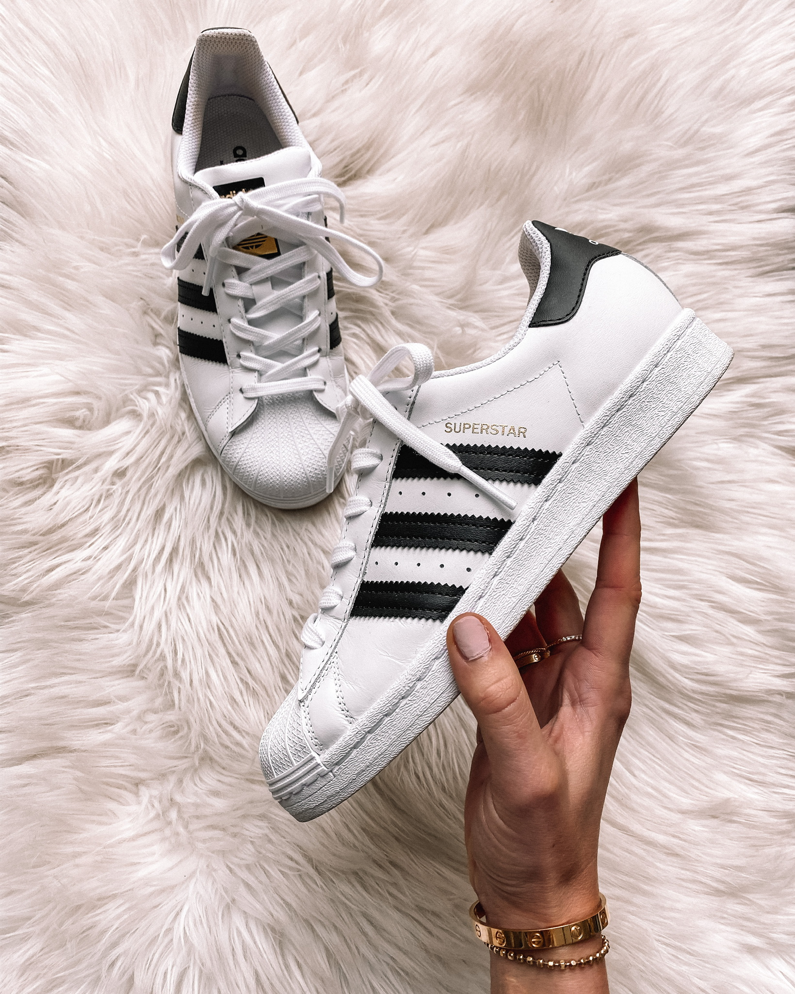 fashion jackson adidas superstar sneakers