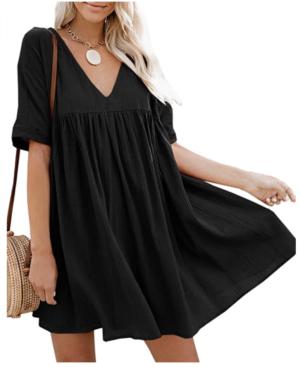 amazon fashion black summer dress