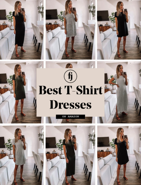 The Best Amazon T-Shirt Dresses to Wear This Summer