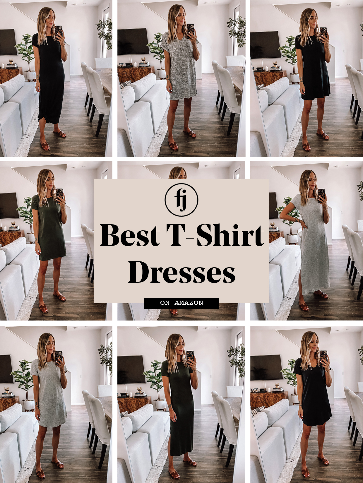 The Best Amazon T Shirt Dresses To Wear This Summer Fashion Jackson