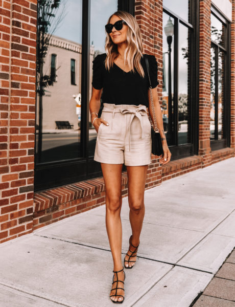 This Summer Outfit With Paperbag Shorts Looks Expensive, But Costs Just $75