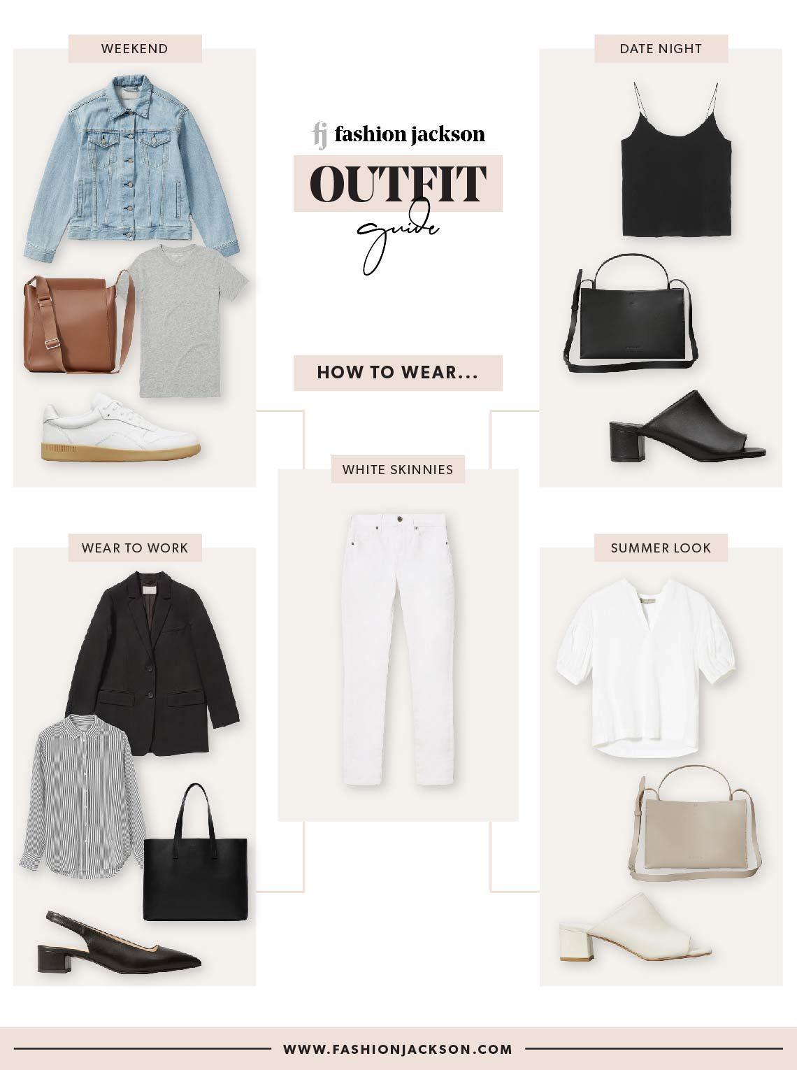 Everlane White Skinny Jeans Outfits