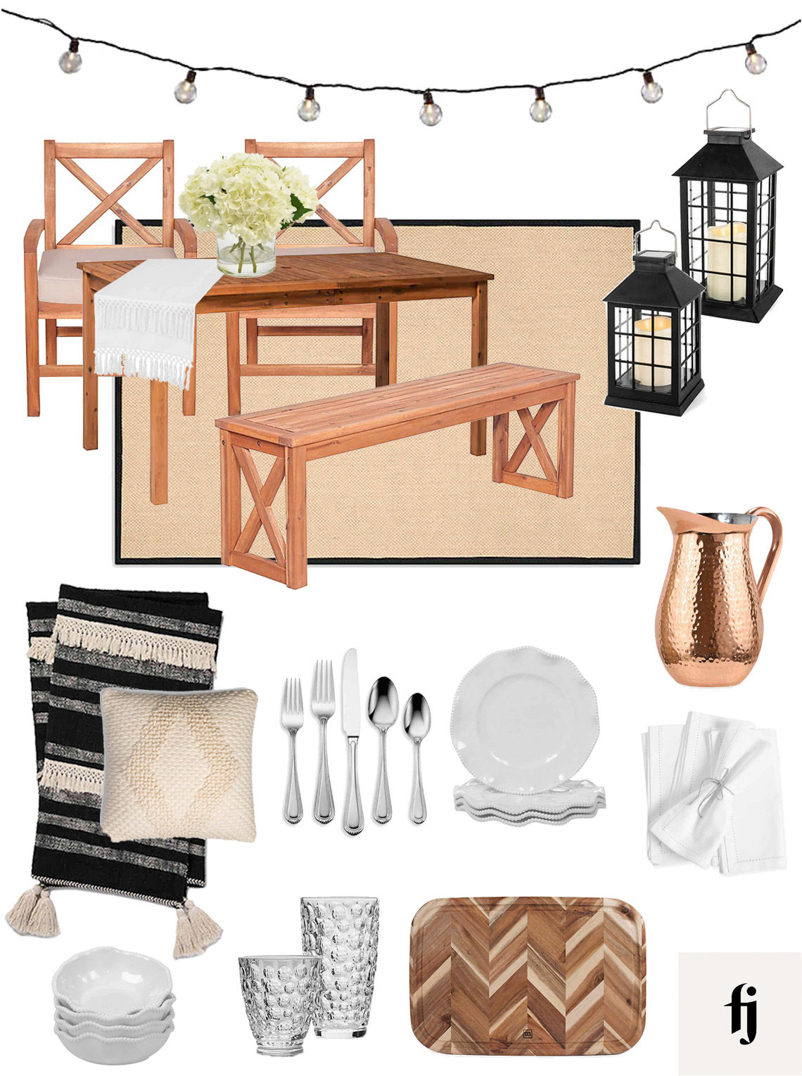bed bath & beyond patio collage