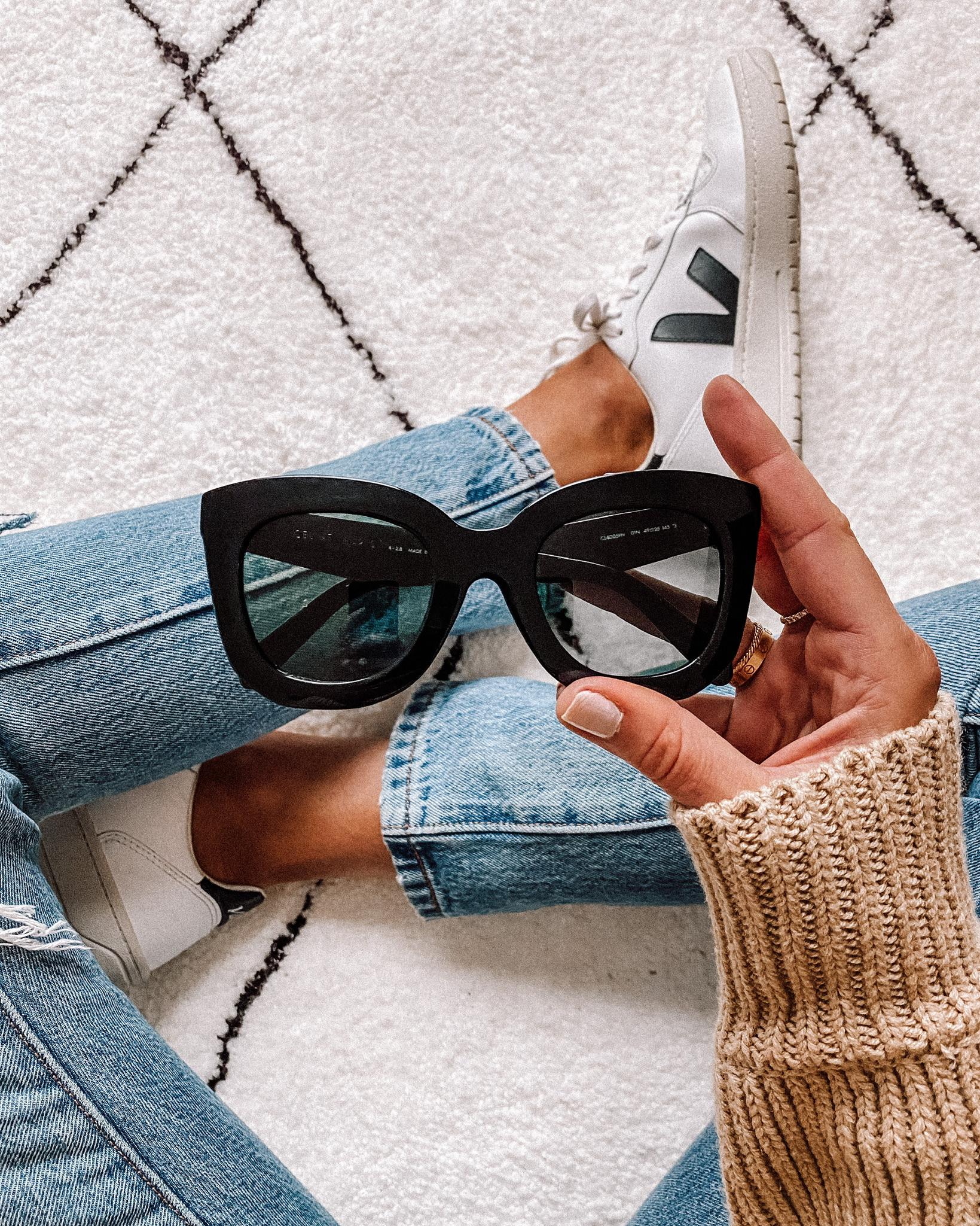 Fashion Jackson Celine black sunglasses