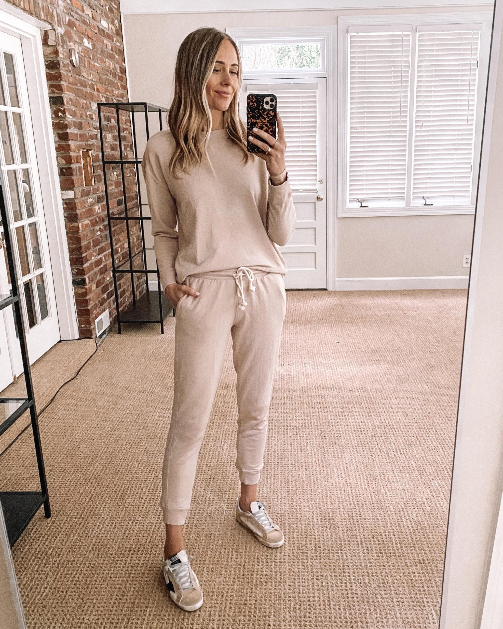 Fashion Jackson Target Finds Blush Sweatshirt Blush Sweatpants