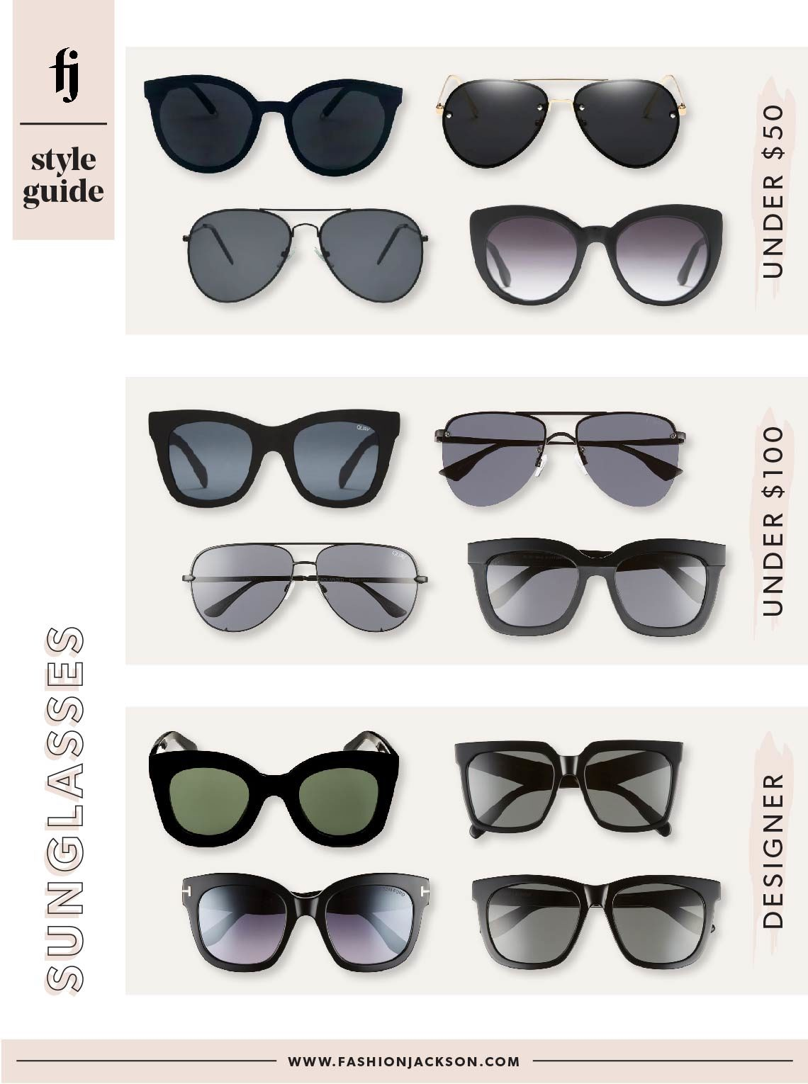 Fashion Jackson Black Sunglasses Guide