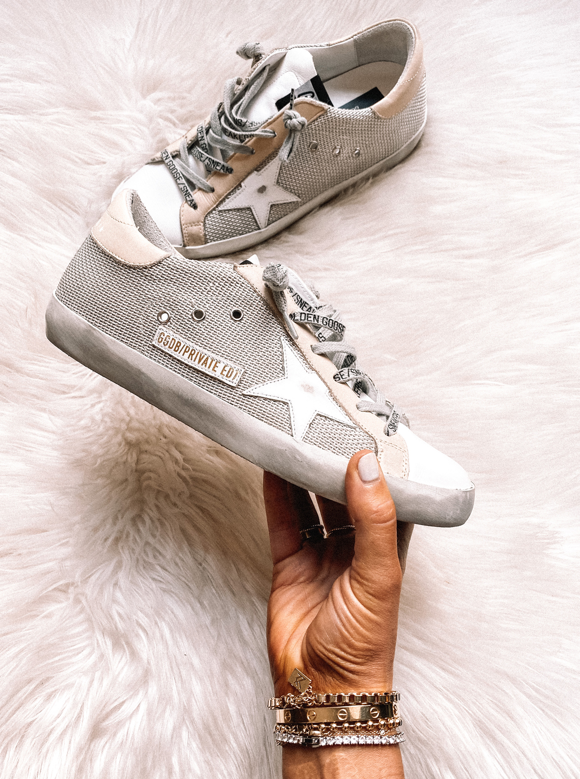 Fashion Jackson Golden Goose Superstar Sneakers